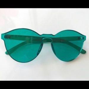 Free People Green Spectrum Glasses